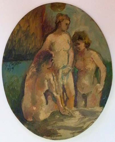 Quadro di Emanuele Cappello Figure - Pittori contemporanei galleria Firenze Art