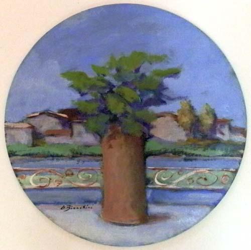 Quadro di Umberto Bianchini Vaso di fiori - Pittori contemporanei galleria Firenze Art