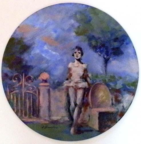 Quadro di Umberto Bianchini Esterno - Pittori contemporanei galleria Firenze Art
