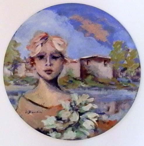 Quadro di Umberto Bianchini Composizione - mista cartone