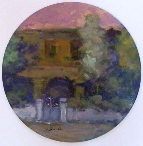 Quadro di Umberto Bianchini Ieri - mista cartone