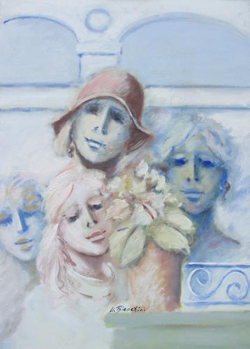 Quadro di Umberto Bianchini Armonia - olio tela