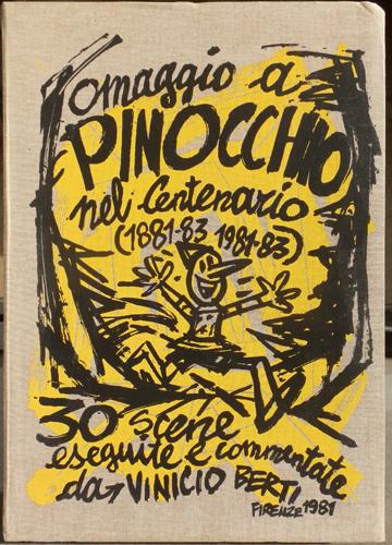 Art work by Vinicio Berti Omaggio a Pinocchio nel centenario - graphics paper