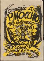 Quadro di Vinicio Berti - Omaggio a Pinocchio nel centenario grafica carta