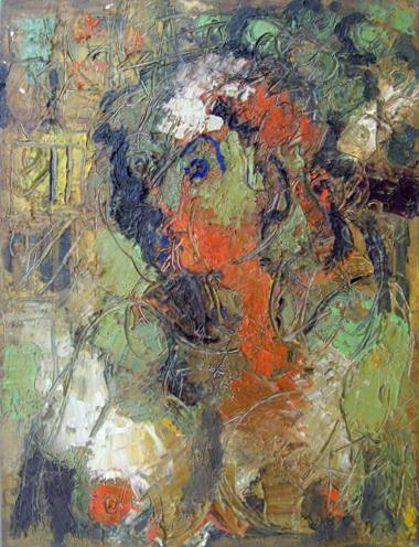 Art work by  Kapel (Cappello) Figura - oil canvas