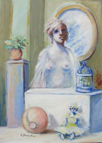 Quadro di Umberto Bianchini Ricordi - olio tela