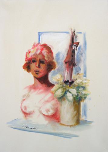 Quadro di Umberto Bianchini Memorie - olio tela