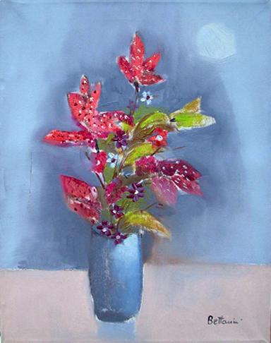 Art work by Lido Bettarini Fiori - oil canvas