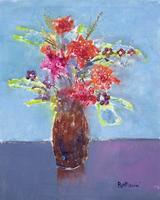 Quadro di Lido Bettarini  Vaso di fiori
