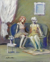 Work of Umberto Bianchini  Salotto