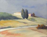 Quadro di Umberto Bianchini  Paesaggio