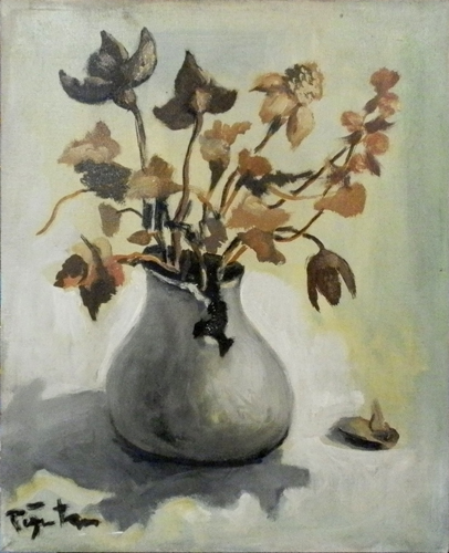 Quadro di Luigi Pignataro Fiori - olio tela