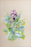 Quadro di Umberto Bianchini  Come un fiore