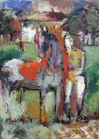 Quadro di Emanuele Cappello  Omaggio a Picasso