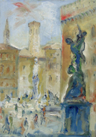 Work of Emanuele Cappello  Piazza Signoria a Firenze