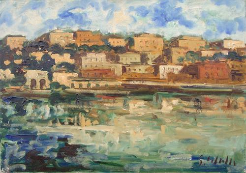 Quadro di Emanuele Cappello Lerici - olio tela