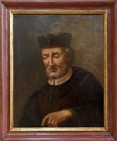 Quadro di  Antiquariato - Ritratto olio tela