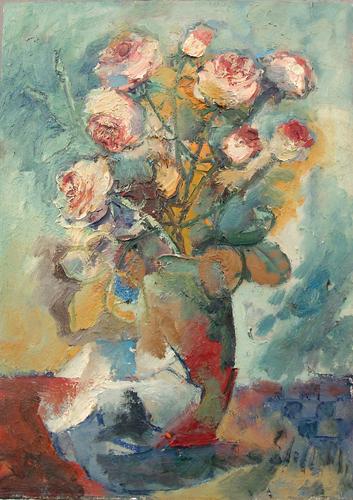 Emanuele Cappello - Vaso di rose