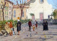 Work of Graziano Marsili  Piazza S.Spirito (Firenze)