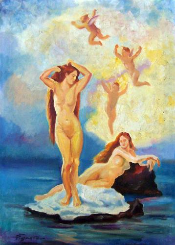 Quadro di Luigi Pignataro Onirico - olio tela