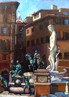 Work of Luigi Pignataro  Piazza Signoria