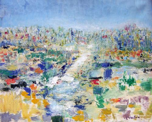 Artwork by Liù Venturi, oil on canvas | Italian Painters FirenzeArt gallery italian painters