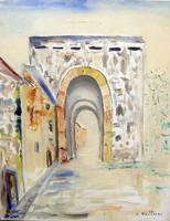 Quadro di Liù Venturi  Porta San Frediano