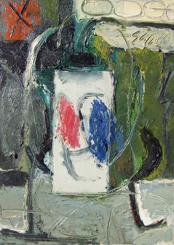 Quadro di Emanuele Cappello Fiori, olio su tela 70 x 50 | FirenzeArt Galleria d'arte