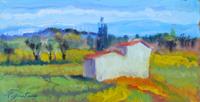Work of Luigi Pignataro  Paesaggio con casa
