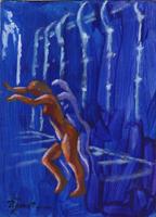 Work of Luigi Pignataro  Nudo di notte