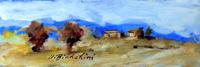 Work of Umberto Bianchini  Paesaggio