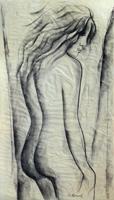 Quadro di G. Romoli  Nudo