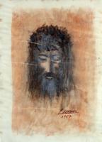 Quadro di Sereno Serena  Volto di Gesù Cristo