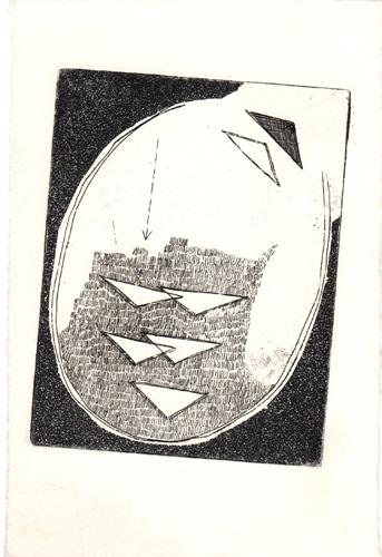 Quadro di  Anonimo Composizione - litografia carta