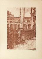 Quadro di Giorgio Sacchi - Le colonne stampa carta