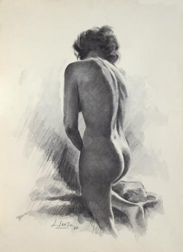 Quadro di Lucia Santini Nudo - lapis carta