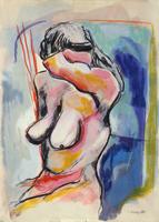 Quadro di Gigi Marzullo  Nudo