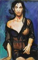 Work of Luigi Pignataro  Figura di donna