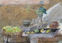 Quadro di Enzo Faraoni - Natura Morta CN FICHI olio tela