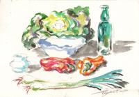 Work of Luigi Pignataro  Composizione con verdura