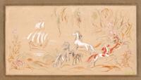 Quadro di K. Aimi - Fantasia acquerello carta