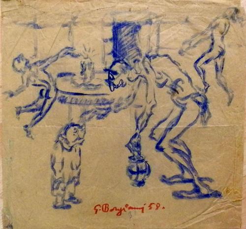 Quadro di Guido Borgianni Sogno - Pittori contemporanei galleria Firenze Art
