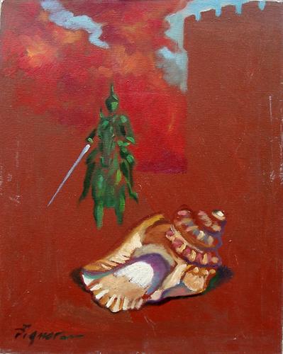 Quadro di Luigi Pignataro Onirico - Pittori contemporanei galleria Firenze Art