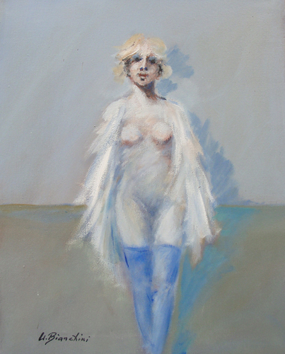 Quadro di Umberto Bianchini Giulia - mista tela