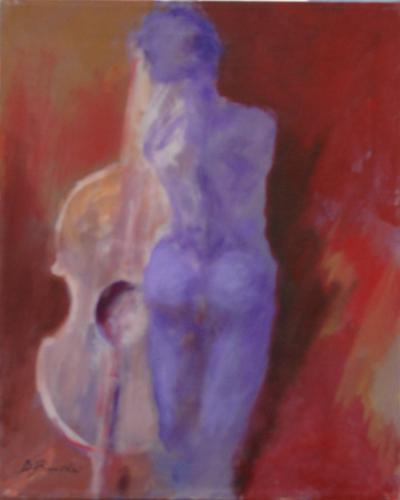 Quadro di Umberto Bianchini Simbiosi - mista tela