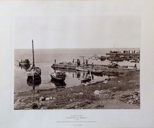 Quadro di Foto Alinari Il porticciolo di Antignano - stampa carta