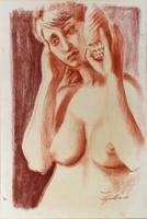 Work of Luigi Pignataro  Donna e conchiglia