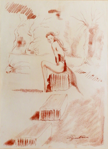 Quadro di Luigi Pignataro Sola - Pittori contemporanei galleria Firenze Art