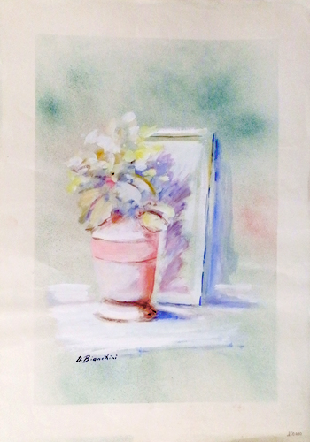 Quadro di Umberto Bianchini Fiore - tempera carta