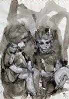 Quadro di Beppe Fabbrini  Bambini